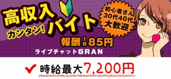 チャットレディ「GRAN(グラン)」の基本情報